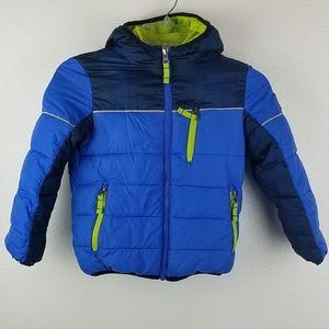 Snozu  Little Boys Sz 5 Winter Coat Built In Liner